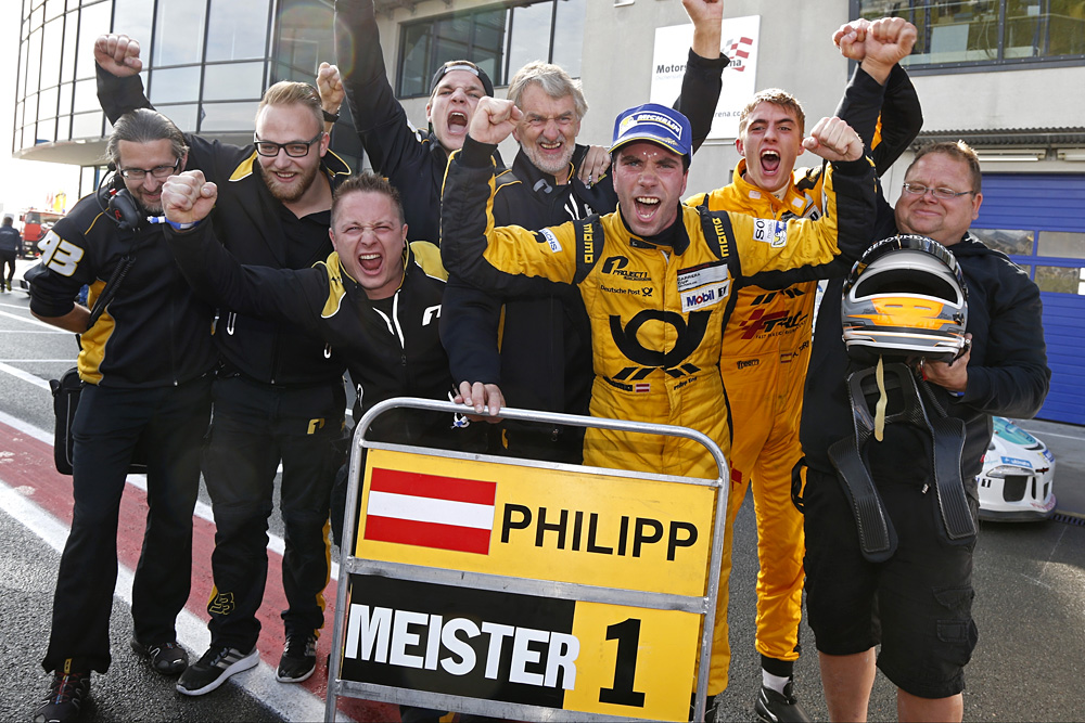 Philipp Eng crowned champion after perfect weekend