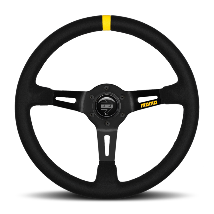MOMO Mod. 08 Suede Racing Steering Wheel