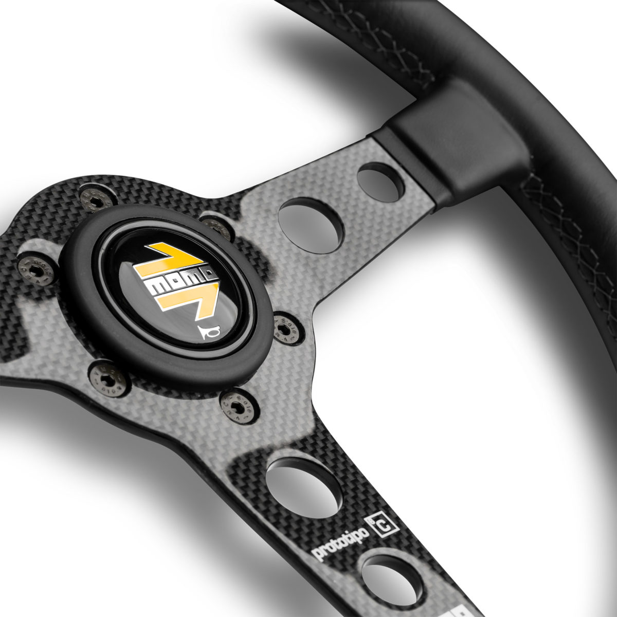 MOMO Prototipo 6C - Carbon Fiber Steering Wheel