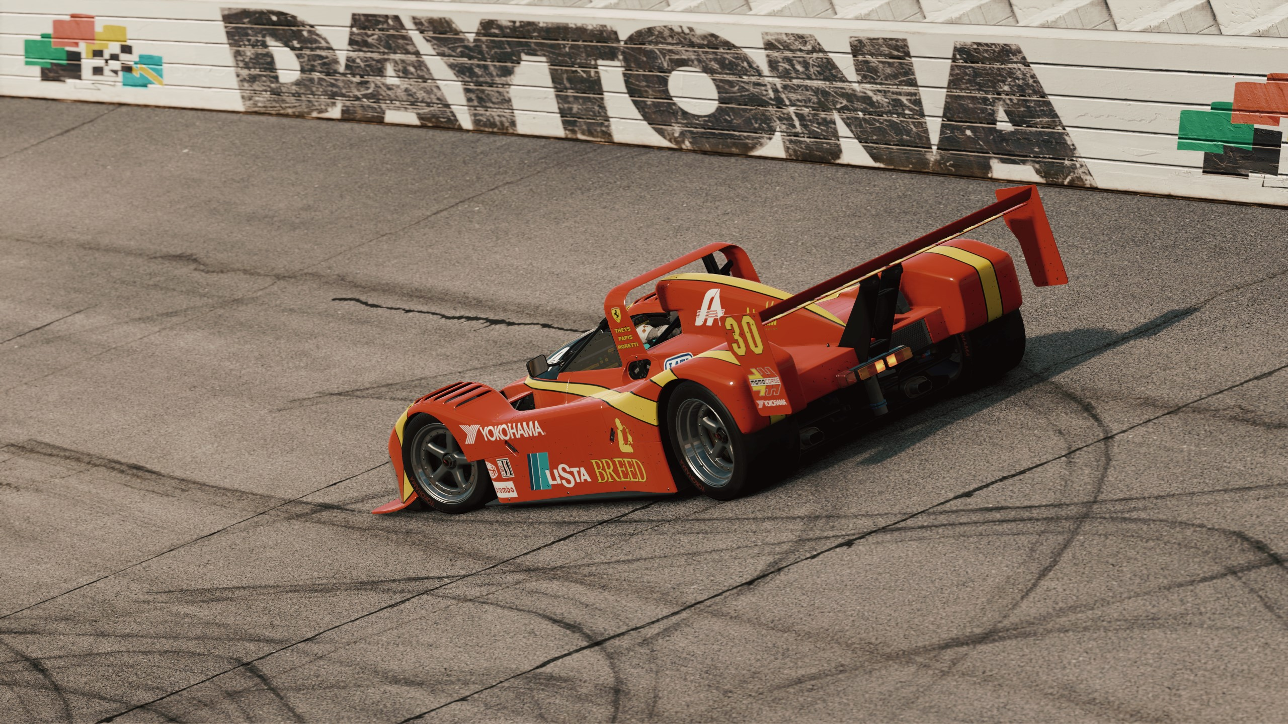 MOMO Ferrari 333 SP featured in Project CARS 2 Game