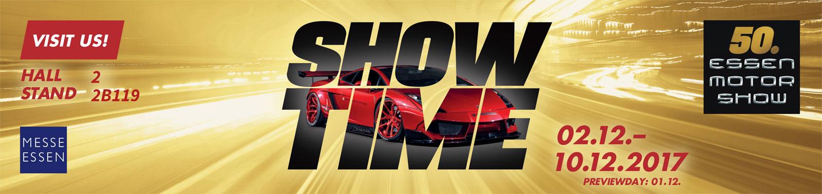 Visit us at the Essen Motorshow