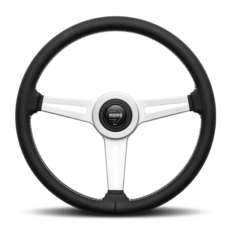 Image of MOMO retro steering wheel