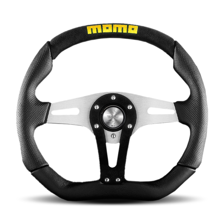 MOMO Trek Black Steering Wheel
