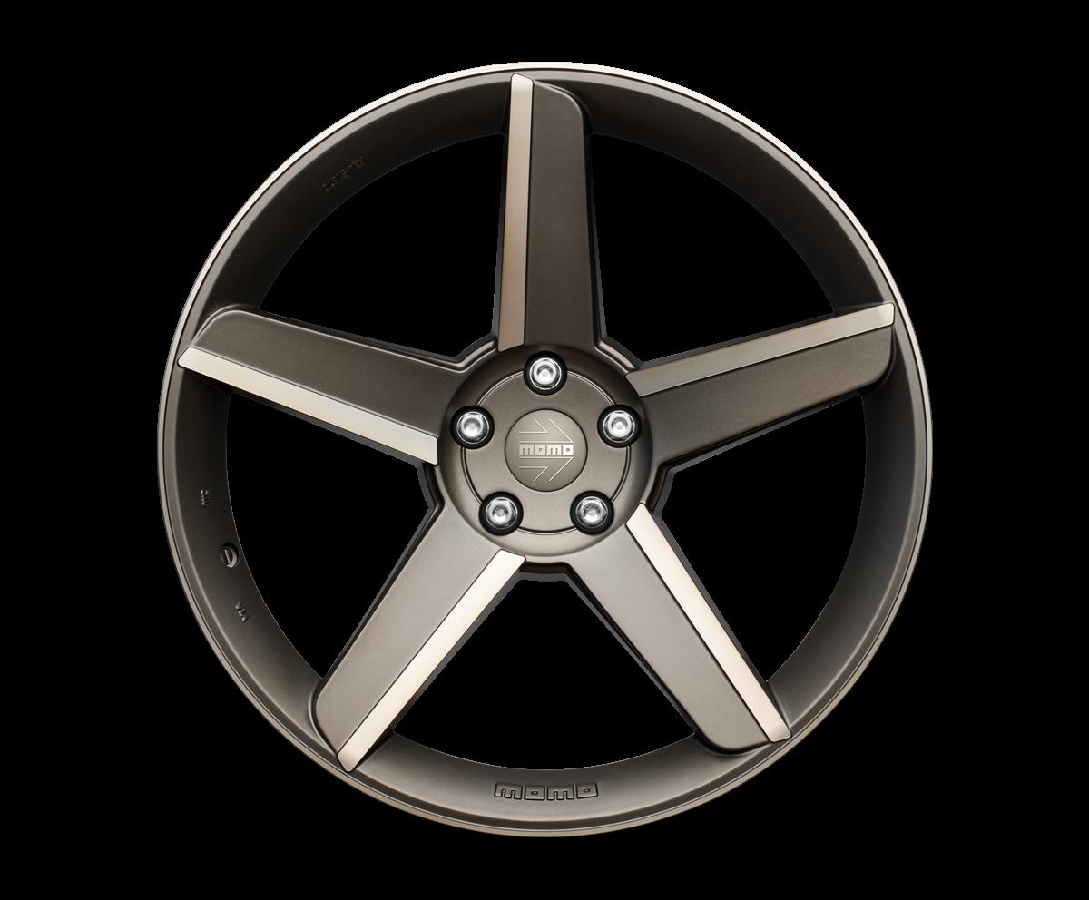 MOMO Stealth Magnesium Anthracite Road Wheels