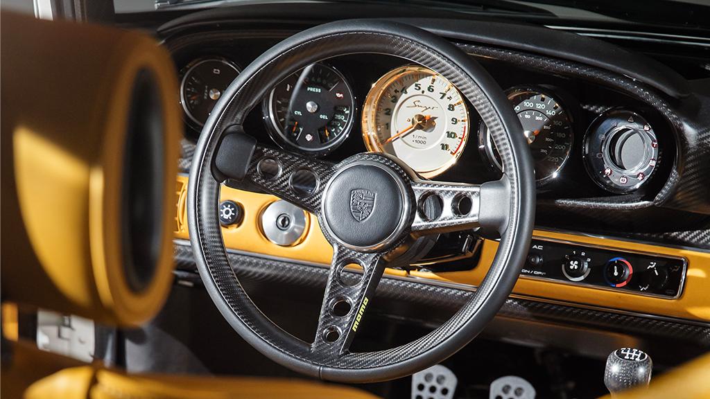 Singer-Williams' DLS Unveiled – Features Carbon Fiber MOMO Steering Wheel