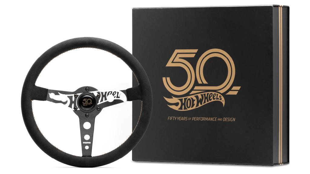 MOMO Celebra el 50 Aniversario de Hot Wheels Con un Nuevo Volante de Edicion Especial