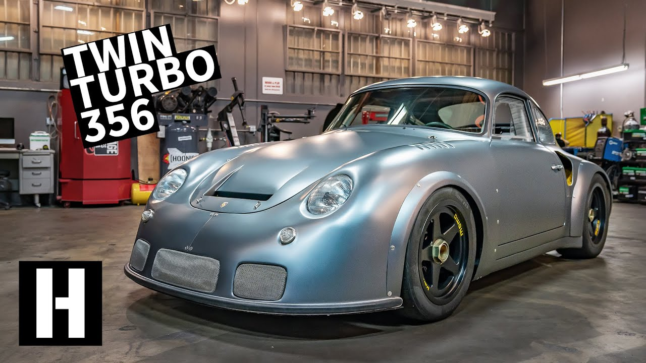 Video: Hoonigan Gives A Detailed Runaround Of The Porsche 356 RSR Outlaw
