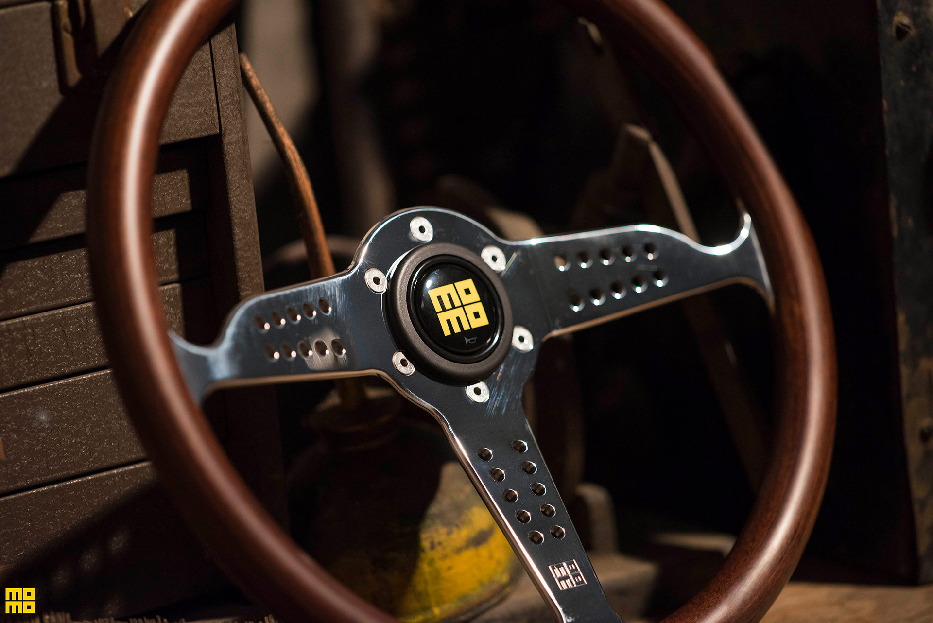 MOMO Super Grand Prix Heritage Steering Wheel