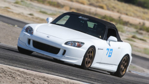 Honda S2000 - MOMO Heritage 6 Wheels @ Willow Springs Raceway