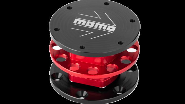 MOMO - Quick Release - Red - 03 Transparent