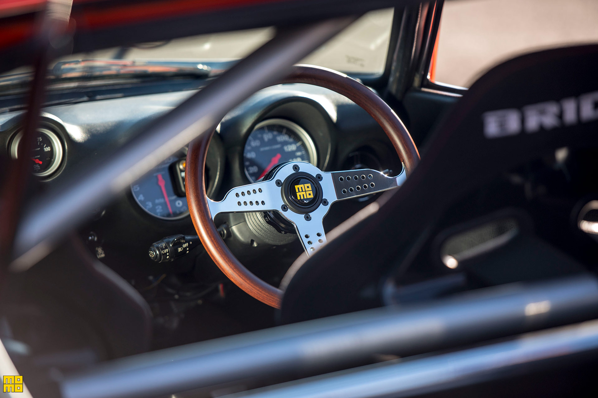 Datsun Fairlady 240z Featuring A Momo Super Grand Prix Steering Wheel Momo