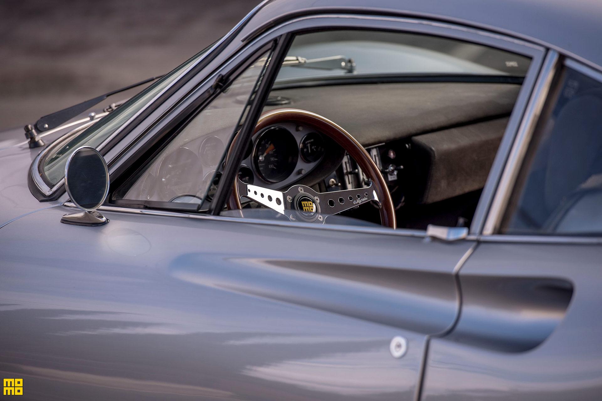 1972 Ferrari Dino - MOMO California Heritage Steering Wheel
