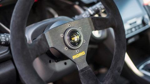Graham Rahal Red Honda Civic Type R - MOMO MOD.69 & MOMO Daytona Steering Wheel
