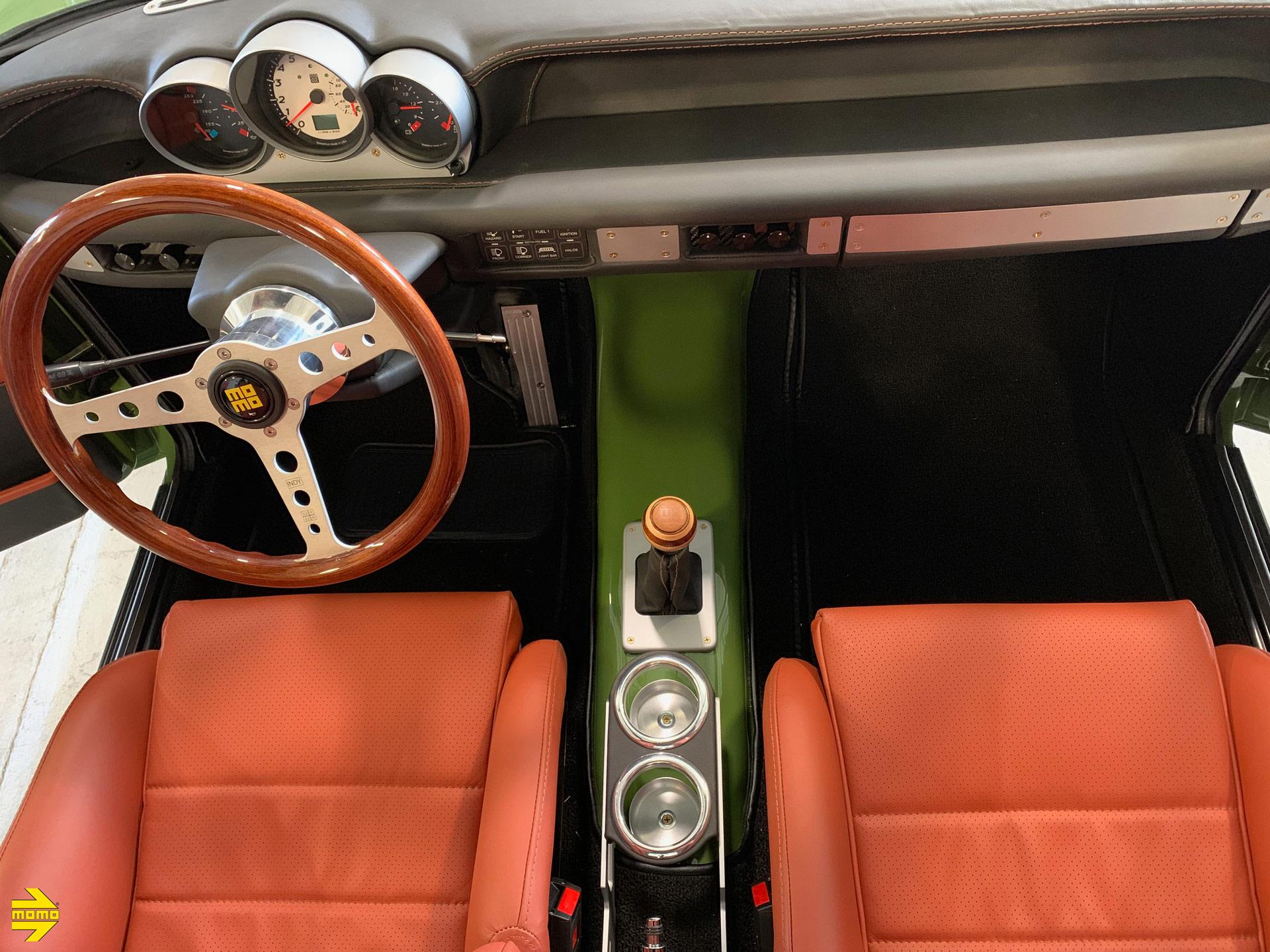 BMW 2002 - Momo Heritage Indy & Targa Shift Knob Steering Wheel