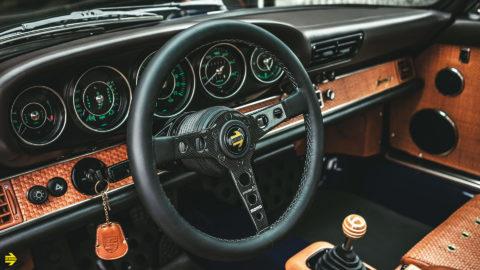 Singer Designed Porsche 911 - MOMO Prototipo 6C Steering Wheel